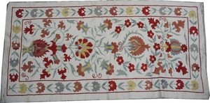 Broderie ancienne suzani 54X106 cm
